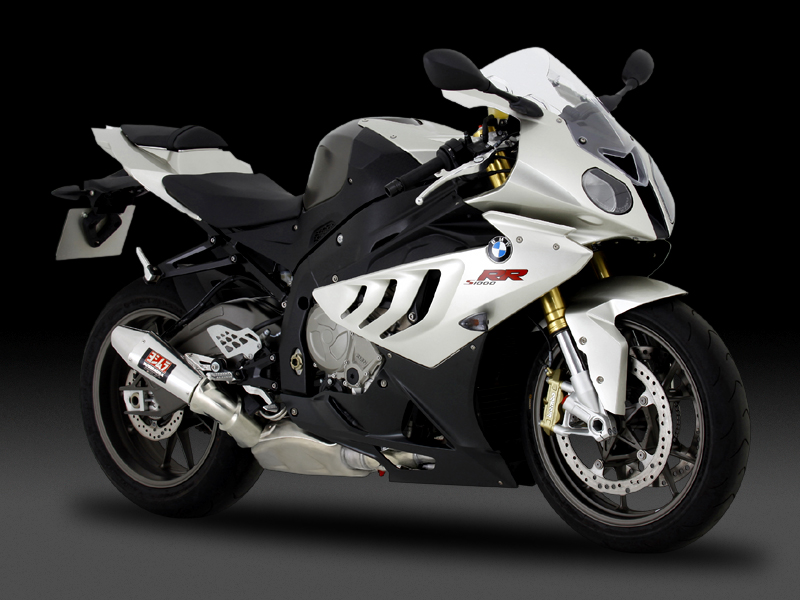 BMW S1000RR(10-14)SLIP-ON TRI-CONE / EURO3