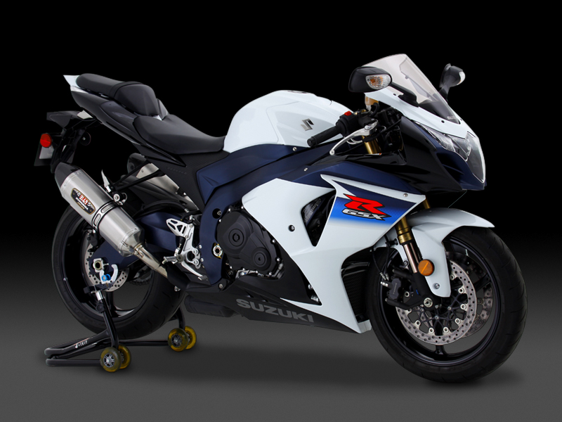 SUZUKI GSX-R1000(09-11)SLIP-ON R-77J STAINLESS END / CARBON END : JMCA APPROVED