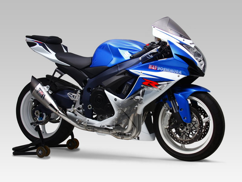 SUZUKI GSX-R600(11-16)TITANIUM FULL SYSTEM R-11 SINGLE EXIT
