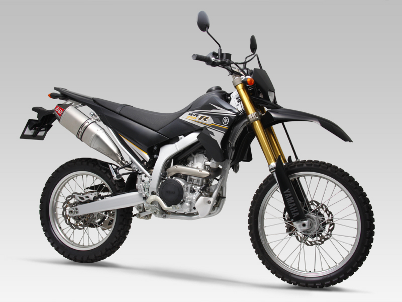 YAMAHA WR250XSLIP-ON RS-4J CARBONEND : JMCA APPROVED