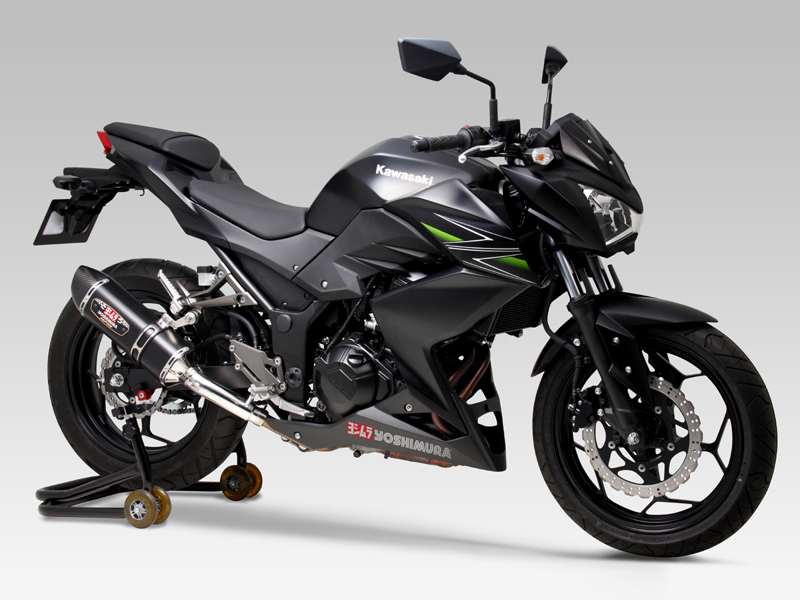KAWASAKI Z250(13-)SLIP-ON R-77S / STREET SPORTS