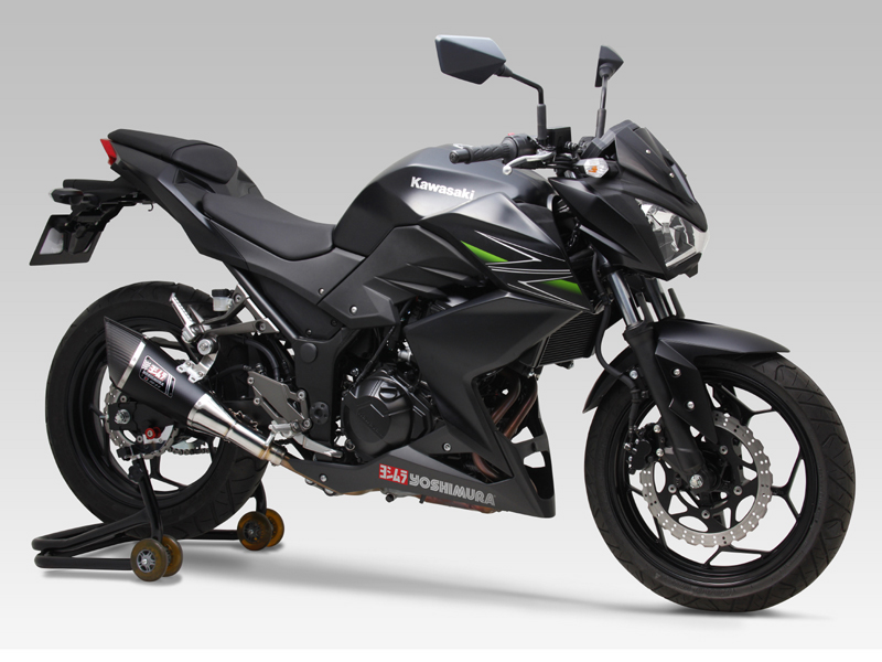 KAWASAKI Z250(13-)SLIP-ON R-11 / STREET SPORTS