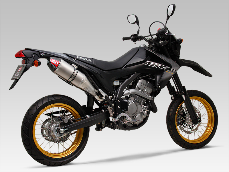 HONDA CRF250L(12-16)Slip-On RS-4Jサイクロン カーボンエンド EXPORT SPEC