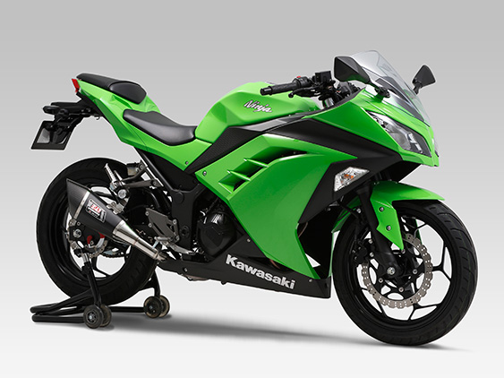 KAWASAKI Ninja250/ABS(13-15)Slip-On R-11 サイクロン 1エンド EXPORT SPEC 政府認証