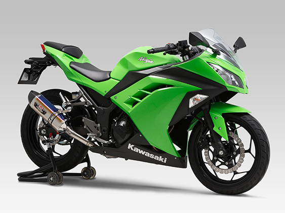 KAWASAKI Ninja250(13-17)SLIP-ON R-77S / STREET SPORTS