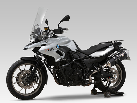 BMW F700GS(14-)Slip-On HEPTA FORCE サイクロン EXPORT SPEC 政府認証
