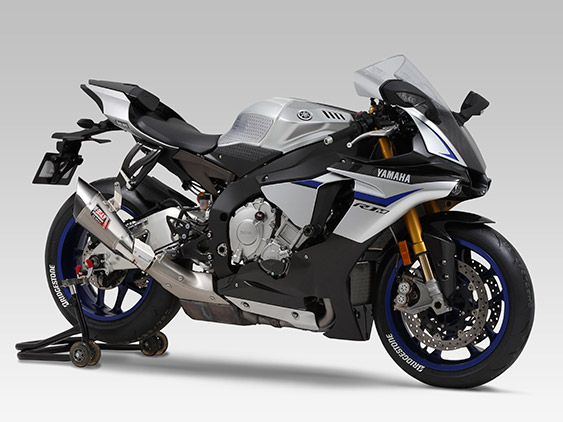YAMAHA YZF-R1(15)SLIP-ON R-11 SINGLE EXIT : JMCA APPROVED