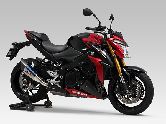 SUZUKI GSX-S1000F(15-17)SLIP-ON R-11Sq CYCLONE : JMCA APPROVED