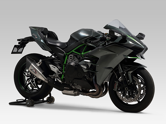 KAWASAKI Ninja H2(15-)SLIP-ON R-11Sq : JMCA APPROVED