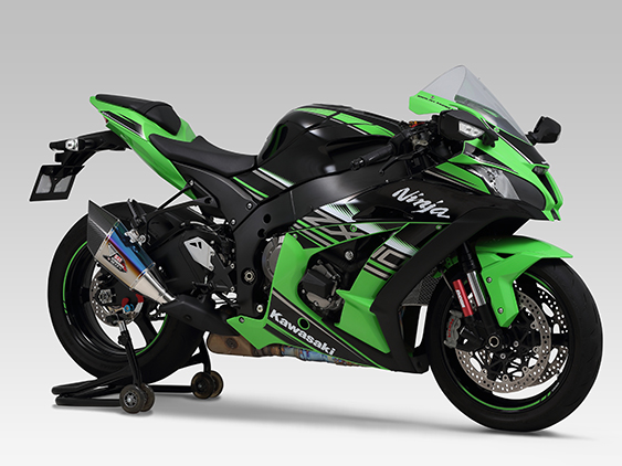 KAWASAKI Ninja ZX-10R(16)SLIP-ON R-11Sq CYCLONE : JMCA APPROVED