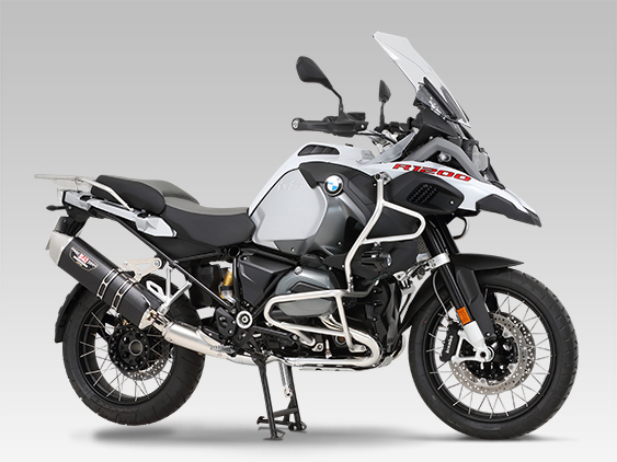 BMW R1200GS(13-17:EBL-R12NA)Slip-On HEPTA FORCE サイクロン EXPORT SPEC 政府認証