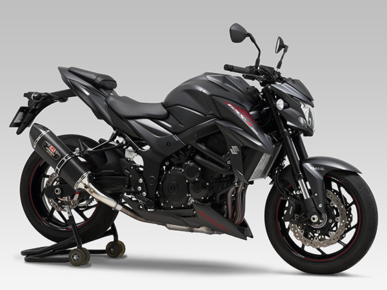 SUZUKI GSX-S750(17:ABS)Slip-On R-77Jサイクロン EXPORT SPEC  政府認証