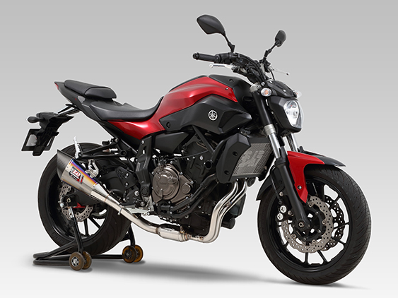 YAMAHA MT-07(14-)STAINLESS FULL SYSTEM R-11 SINGLE EXIT : STREET SPORTS