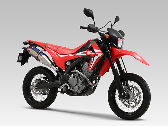 HONDA CRF250 RALLY(17:[ABS/Type LD]可)機械曲 RS-4Jサイクロン カーボンエンド EXPORT SPEC