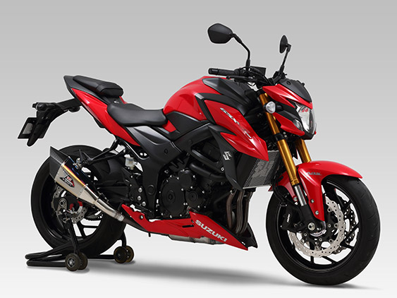 SUZUKI GSX-S750(17:ABS)Slip-On R-11Sqサイクロン EXPORT SPEC 政府認証