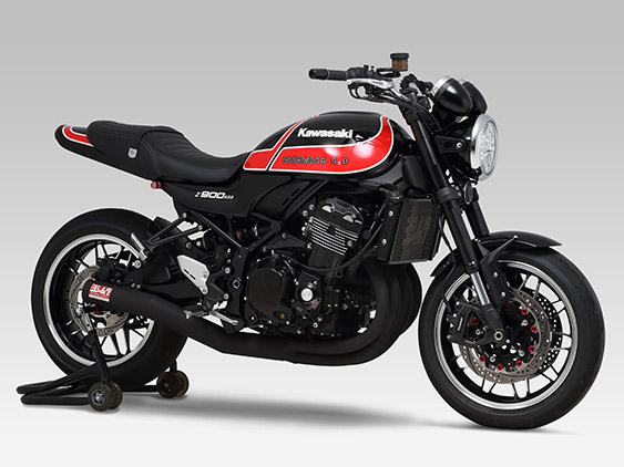 KAWASAKI Z900RS CAFE(18-20)FULL SYSTEM HAND BENT STRAIGHT CYCLONE T-SPEC / RACING