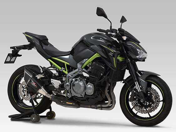 KAWASAKI Z900(18)SLIP-ON R-11Sq : JMCA APPROVED