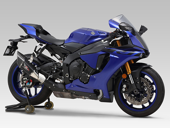 YAMAHA YZF-R1(15-18)SLIP-ON R-11Sq CYCLONE : JMCA APPROVED