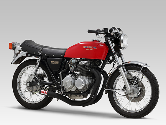 HONDA CB400FOUR (408cc: 74-77 /398cc: 76-77)FULL SYSTEM STRAIGHT CYCLONE / RACING