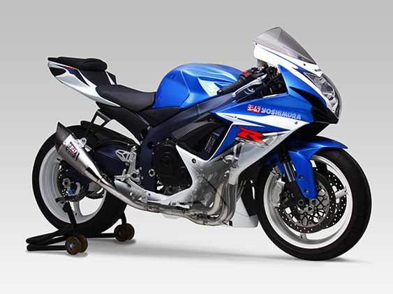 SUZUKI GSX-R600(11-16)STAINLESS FULL SYSTEM R-11 SINGLE EXIT