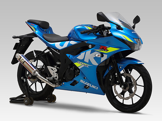 SUZUKI GSX-S125(17-)FULL SYSTEM GP-MAGNUM / JMCA APPROVED