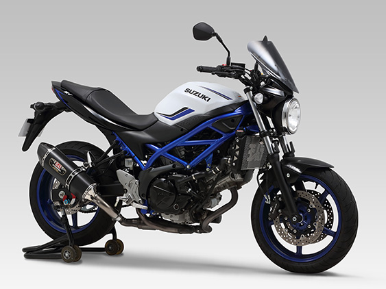 SUZUKI SV650(16-19:ABS)Slip-On R-77Jサイクロン EXPORT SPEC  政府認証