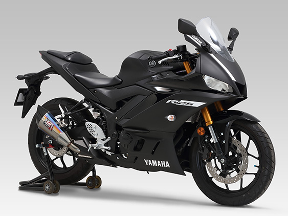 YAMAHA YZF-R25(19)SLIP-ON R-11 SINGLE EXIT : JMCA APPROVED