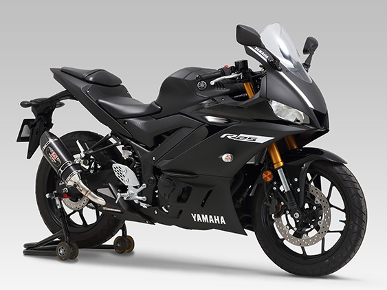 YAMAHA YZF-R25(19)SLIP-ON R-77S : JMCA APPROVED