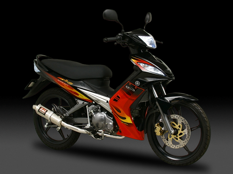 Yoshimura product site : 135LC - FULL SYSTEM TRI-OVAL