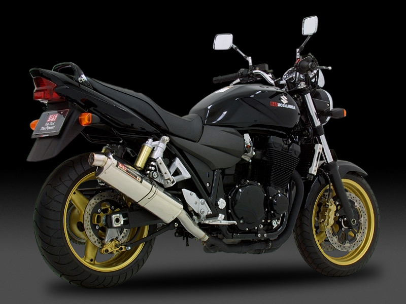 SUZUKI GSX1400(05-06)SLIP-ON TRI-OVAL : EEC APPROVED