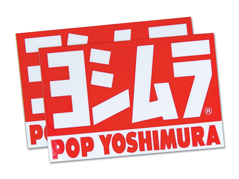 POP YOSHIMURA STICKER