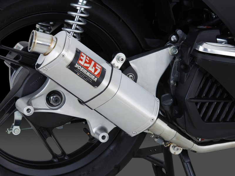 Yoshimura product site : PCX - FULL SYSTEM TRI-OVAL / STREET SPORTS