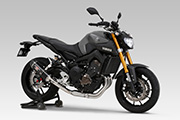 YAMAHA MT-09 FULL SYSTEM  R-77S CARBON END