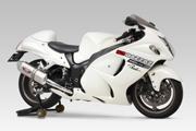 GSX1300R HAYABUSA(08-) EEC / STREET SPORTS SLIP-ON HEPTAFORCE STAINLESS END / CARBON END