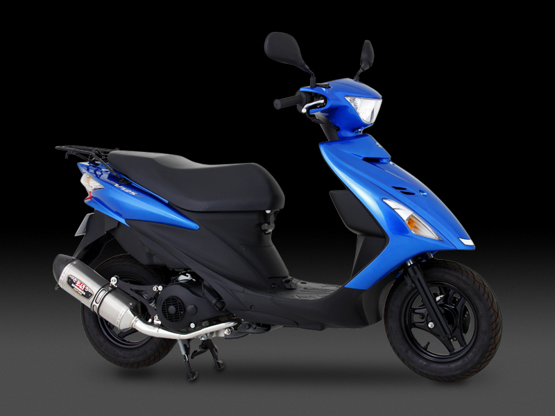 SUZUKI ADDRESS V125G(09)FULL SYSTEM R-77S / JMCA APPROVED