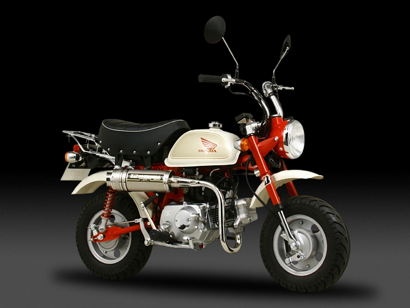 HONDA MONKEY(09-10)FULL SYSTEM STAINLESS CYCLONE (SIDEWINDER) : JMCA APPROVED