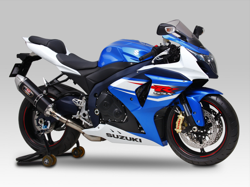 SUZUKI GSX-R1000(12-16)SLIP-ON R-77J STAINLESS END / CARBON END : JMCA APPROVED