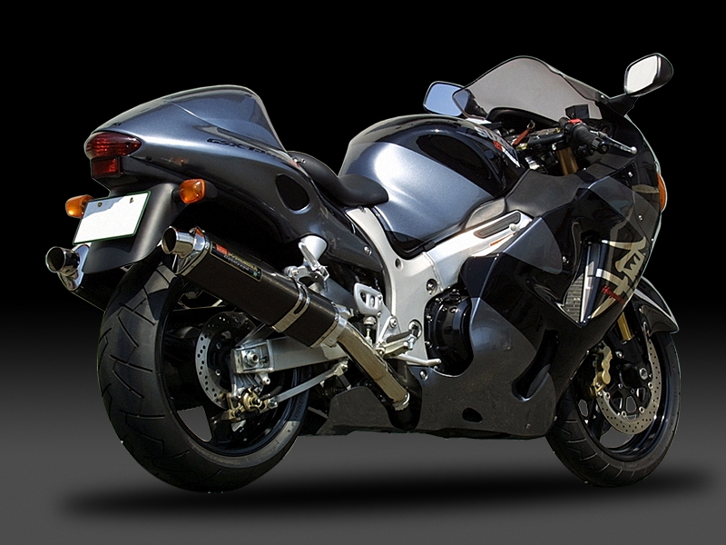SUZUKI GSX1300R HAYABUSA(-06 : NORTH AMERICA / -03 : EUROPE)BOLT-ON STAINLESS TRI-OVAL : JMCA APPROVED