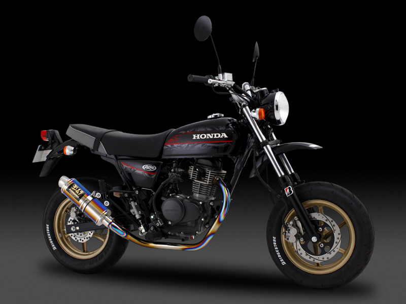 HONDA Ape100 Type-D(08-10)FULL SYSTEM TITANIUM CYCLONE GP-MAGNUM : JMCA APPROVED