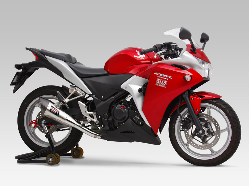 HONDA CBR250R(11-13)SLIP-ON R-11 SINGLE EXIT : JMCA APPROVED