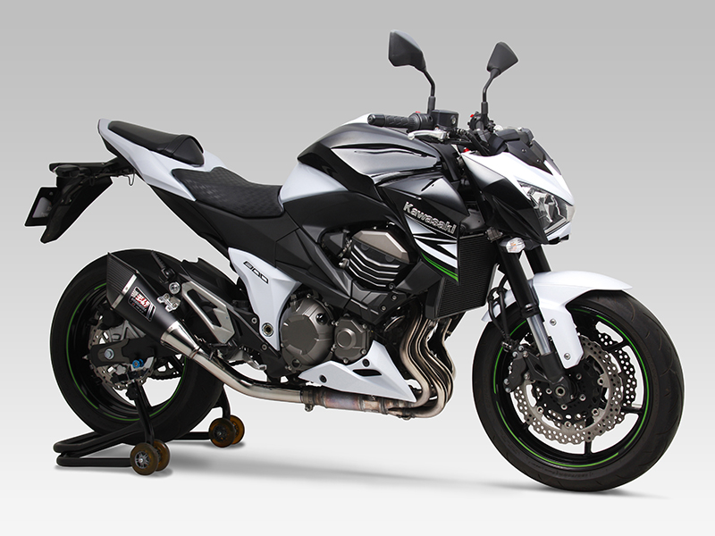 KAWASAKI Z800SLIP-ON R-11 SINGLE EXIT : JMCA APPROVED