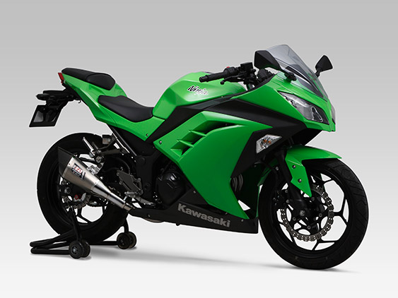 KAWASAKI Ninja300SLIP-ON R-11 SINGLE EXIT : JMCA APPROVED