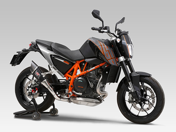 KTM 690 DUKE(14-15)SLIP-ON R-11 SINGLE EXIT : JMCA APPROVED