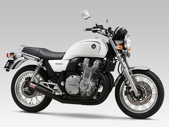 HONDA CB1100(14-16)FULL SYSTEM HAND BENT STRAIGHT CYCLONE [RSC-VINTAGE] : JMCA APPROVED