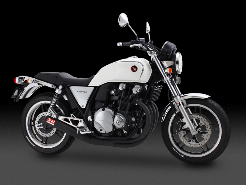 HONDA CB1100(10-13)FULL SYSTEM HAND BENT STRAIGHT CYCLONE [RSC-VINTAGE]  : JMCA APPROVED