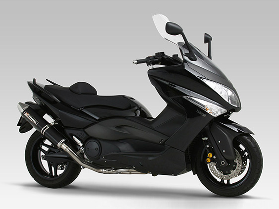 YAMAHA T-MAX Japan ModelFULL SYSTEM TRI-CONE : JMCA APPROVED