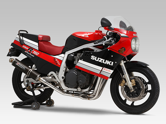 SUZUKI GSX-R750(85-87)FULL SYSTEM CYCLONE / STREET SPORTS