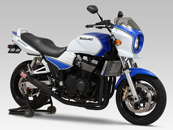 SUZUKI GSX1400(-05)FULL SYSTEM STAINLESS STRAIGHT CYCLONE : JMCA APPROVED