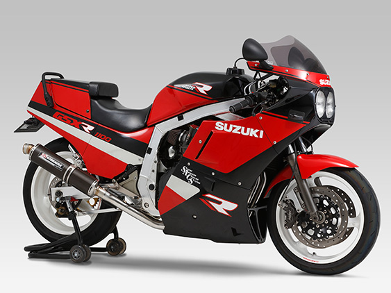 SUZUKI GSX-R1100(86-88)FULL SYSTEM STAINLESS CYCLONE : JMCA APPROVED