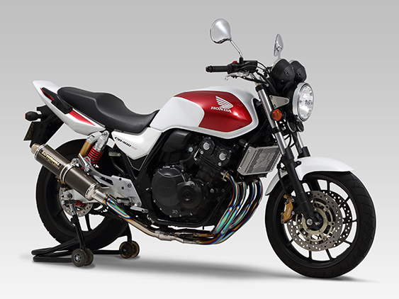 HONDA CB400SF Revo(08-13)FULL SYSTEM TITANIUM CYCLONE : JMCA APPROVED